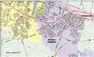 map of killeen and surrounding areas greater killeen fort area map
