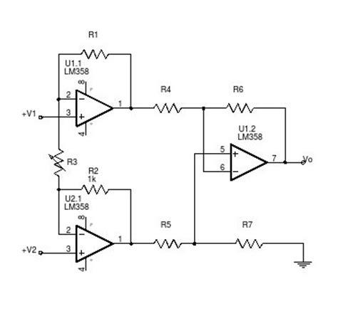 rtd bridge resistors lab iv op signal conditioning circuit for 3 wire rtd bridge mr ittipat khamnuansin