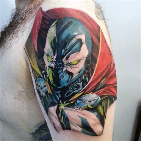 spawn tattoo designs 40 spawn designs for antihero ink ideas