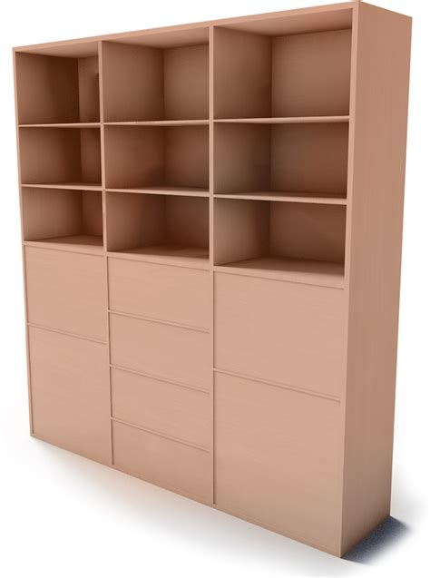 Besta Storage With Drawers by Cad And Bim Object Besta Storage Combination With Doors