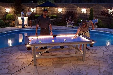 Water Pool Table by Illuminated Pool Table For Your Nights