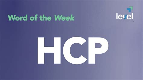 hcp stock quote word of the week hcp level financial advisors