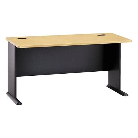 60 inch computer desk bush business series a 60 quot desk in beech wc14360