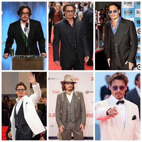 M K Takes Style Cues From Johnny Depp by S Style Icons Redsolesed