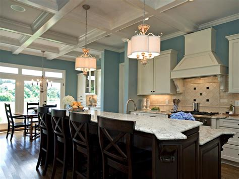 open kitchen design ideas open kitchen with ceiling beams photo page hgtv