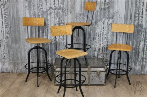 industrial style ls vintage style bar stools the wandsworth