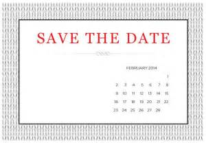 Free Save The Date Template by Save The Date Templates Cyberuse