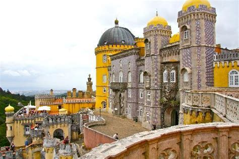 The Pena Castle, Sintra , Portugal   Picture of Sintra