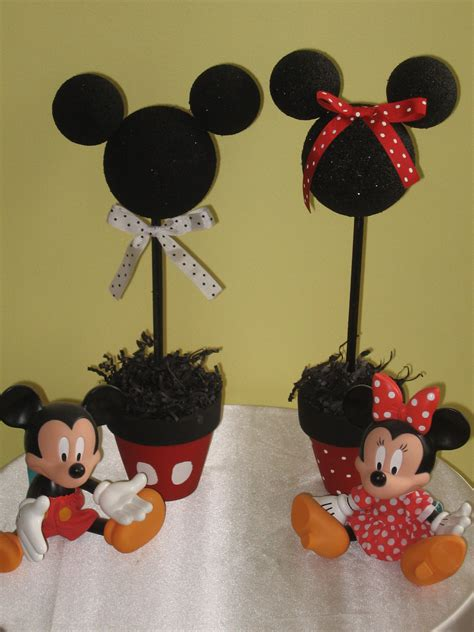 mickey mouse decorations diy diy mickey minnie mouse centerpieces mickey