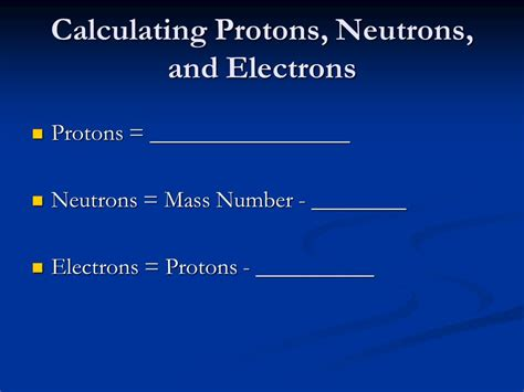 Counting Protons Neutrons And Electrons by Chapter 4 Atomic Theory And Structure Ppt