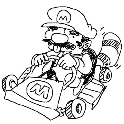 Free Mario Kart 8 Coloring Pages Mario Kart 7 Coloring Pages