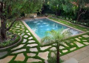 Backyard Ideas Around Pool Beautiful Swimming Pool Designs For Backyard Garden