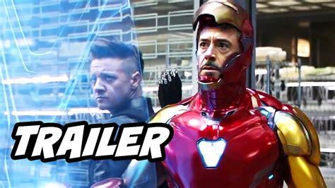 avengers endgame trailer iron man hawkeye easter eggs