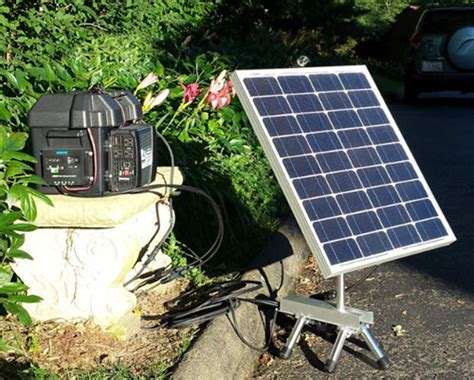 home solar plant simple diy home solar power system