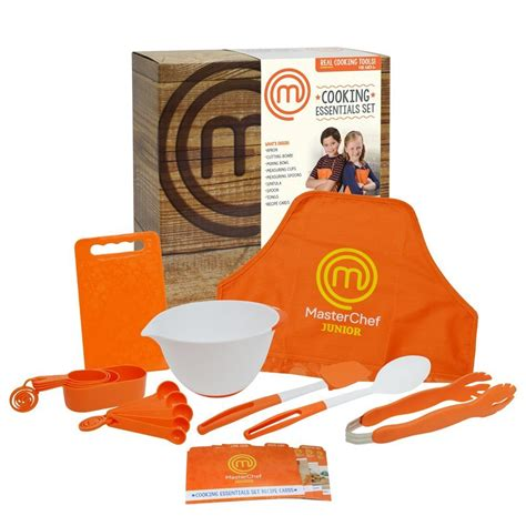 Pdf Mastering Cooking Set by Masterchef Junior Cooking Essentials Set Includes Real