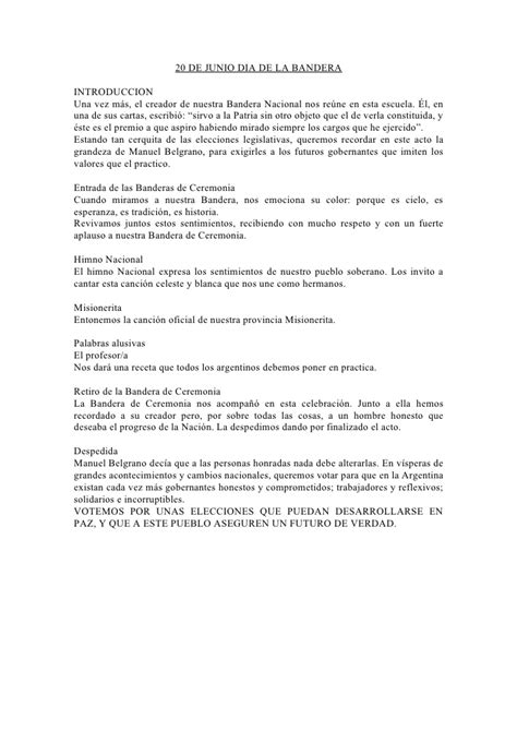 palabras alusivas para el dia de la bandera argentina 20 de junio dia de la bandera