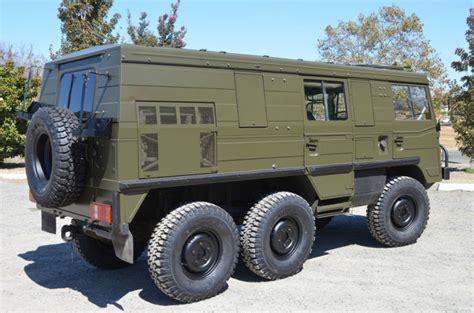 pinzgauer   army surplus  salehtml autos post