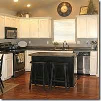 How To Paint Oak Kitchen Cabinets White Painting Oak Cabinets White And Gray Diy