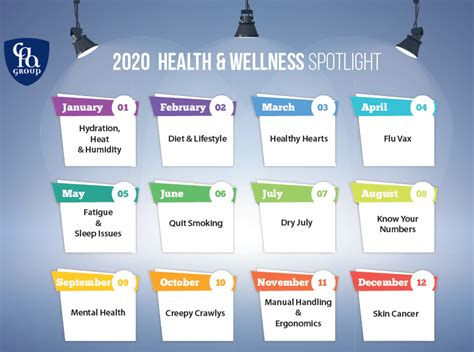 health wellness calendar cpa group