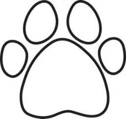 paw print coloring page 17 best ideas about dog paw prints on pinterest this