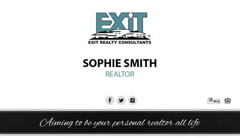exit realty business cards template exit realty business card 29 exit realty business card