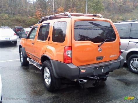 2003 atomic orange nissan xterra xe v6 4x4 38076058 photo 4 gtcarlot car color galleries