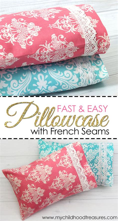 Diy Pillow Patterns by Best 20 Pillowcase Pattern Ideas On Sewing
