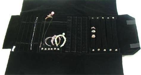 rotoli porta gioielli 3 roll rotolo porta gioielli organizer portagioie da