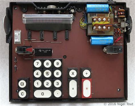 integrated circuit of a calculator advance wireless world