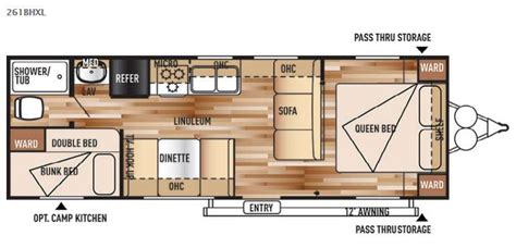 wildwood trailers floor plans wildwood x lite travel trailer rv sales 28 floorplans