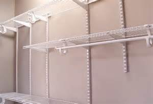 Installing Closetmaid Shelving How To Install A Closetmaid Shelftrack Closet Storage