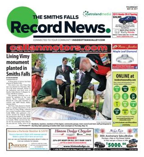 smithsfalls09112014 by metroland east smiths falls smithsfalls052517 by metroland east smiths falls record
