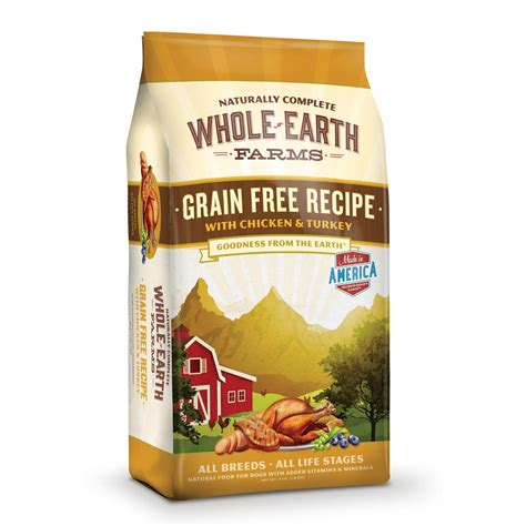 whole grains for dogs no grain food
