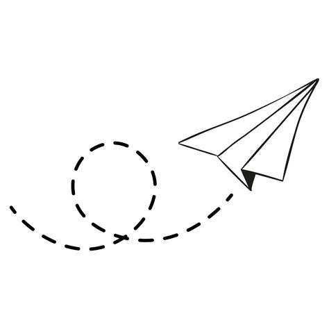 white paper plane png image purepng free transparent