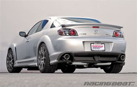 mazda rx8 cat 04 08 rx8 racing beat cat back rev8 exhaust system 16397