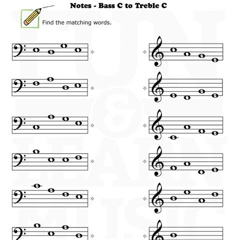Note Reading Practice Worksheets by Bass Clef Worksheets Free Worksheets