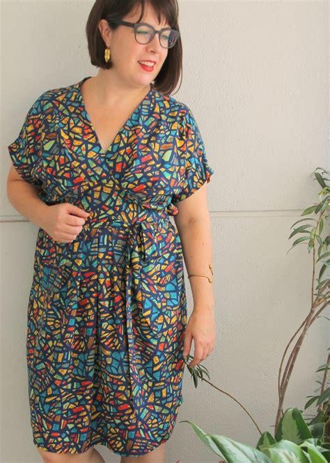 pattern kimono dress pattern review wardrobe by me curvy akinori kimono dress