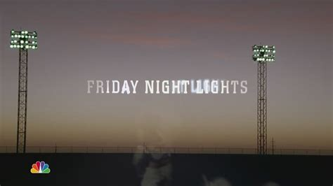 On Friday Lights by Season 2 Opening Credits Friday Lights Image
