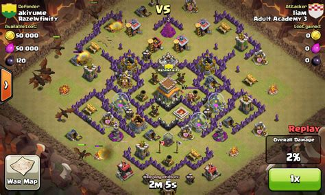 layout coc anti naga th 8 contoh war base th 8 anti naga terbaik