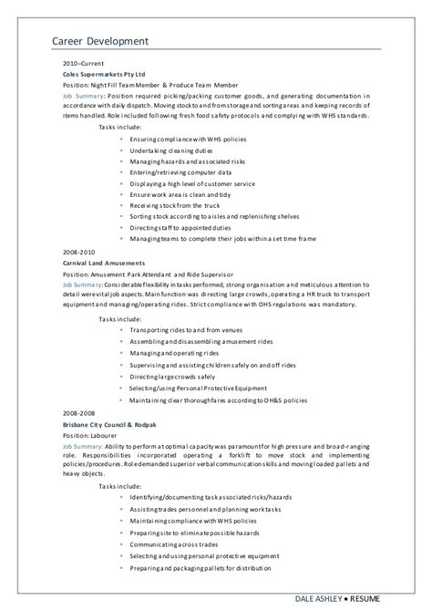 Sle Resume Warehouse Packer 28 Packer Resume Sle 11 Warehouse Resumes Sle And Resume Template 11 Warehouse Resumes Sle