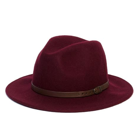 New Vintage Hats At Candysayscouk by Mens Wool Vintage Felt Fedora Wide Brim Hat Cap New