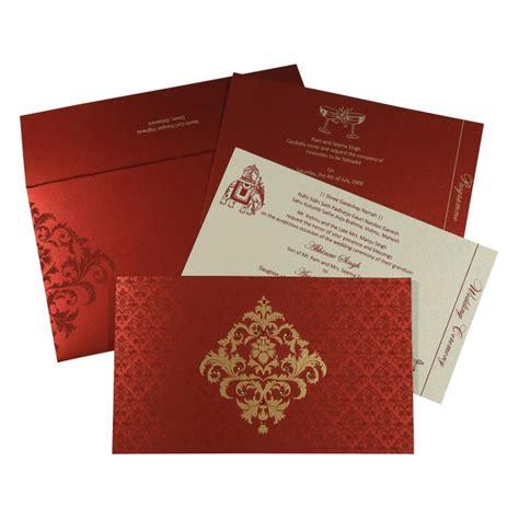 Wedding Card Design Christian by Christian Wedding Cards C 8257h 123weddingcards