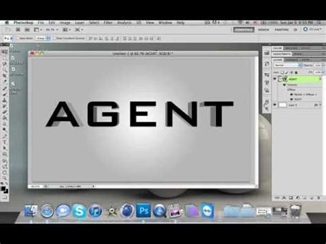 photoshop cs5 tutorial 3d text with a drop shadow youtube how to make 3d text in photoshop cs4 cs5 youtube