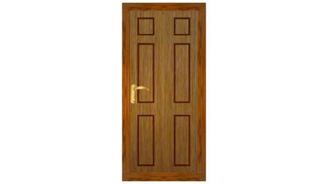 3d Door by Door 3d Model Mb Fbx