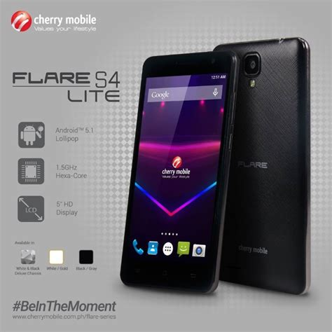 s 4 mobile cherry mobile flare s4 lite for only p3 999 techglimpse