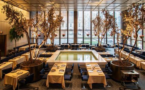 the best restaurant in new york city new york city s power lunch restaurants travel leisure