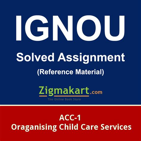 Ignou Mba Solved Assignments 2017 Free by Ignou Acc 1 Solved Assignment 2017 18 Zigmakart