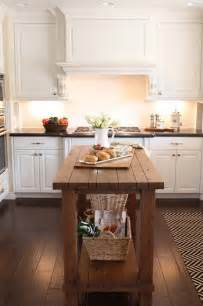 Wood Island Kitchen by Reclaimed Wood Island Transitional Kitchen The