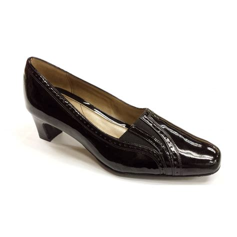 black patent shoes winona black patent court shoe