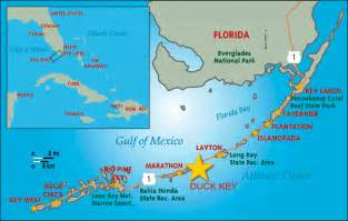 duck key florida map florida map charters